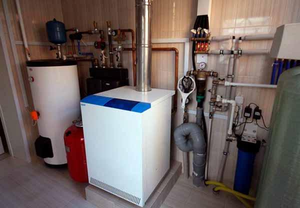 Отопление в частном доме, котел для отопления дома