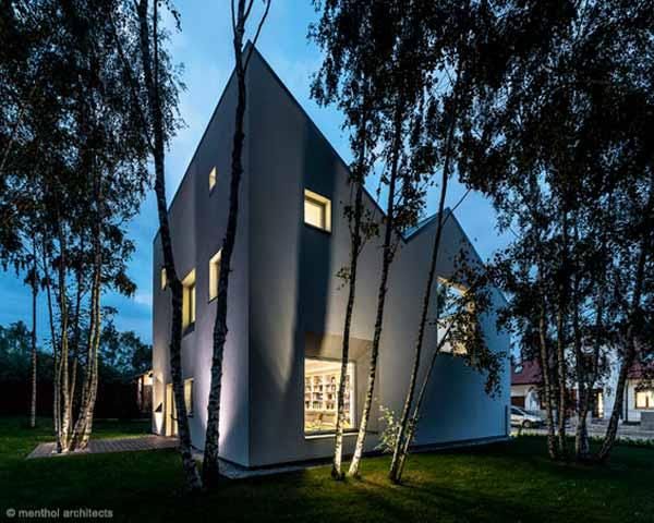 Односемейный дом, энергоэффективный дом, пассивное строительство