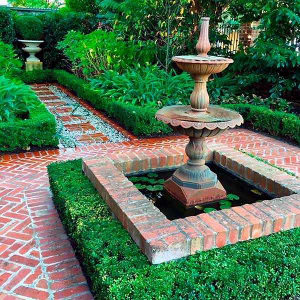 Ландшафтный стиль, регулярный сад, регулярный стиль