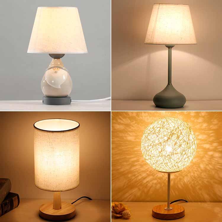 настольные светильники в спальню