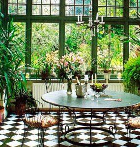 зимний сад в квартире, обустройство зимнего сада, сад на балконе лоджии, зимний сад